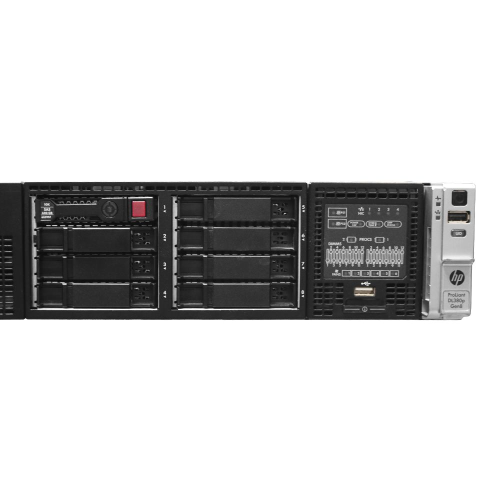 Servidor HP DL380P G8 - Xeon E5 (2660) 48gb 300gb - Usado