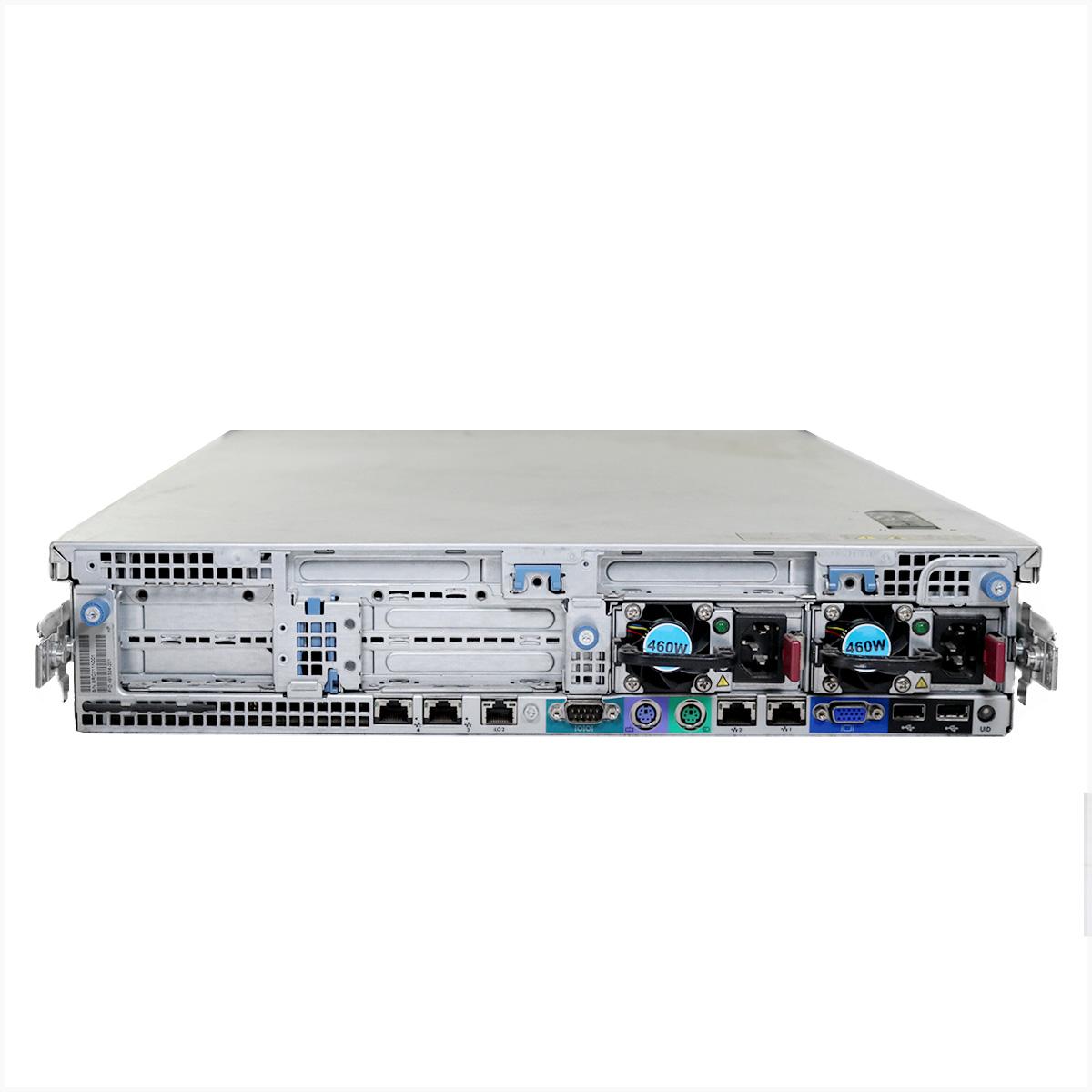 Servidor hp proliant dl380 gen6 2x e5530 64gb 2x 1tb - usado