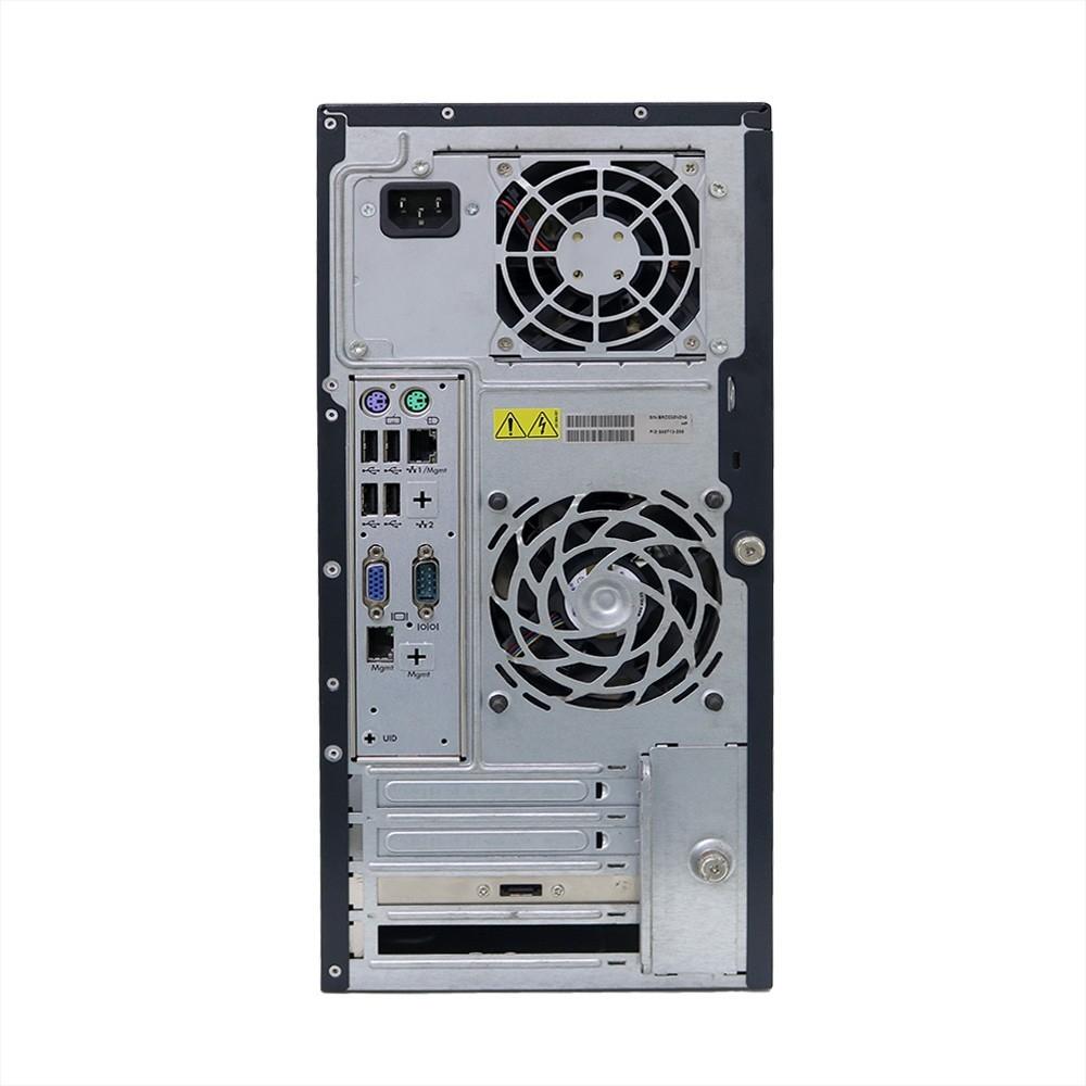 Servidor hp proliant ml 110 g6 xeon x3430 4gb 320gb - usado