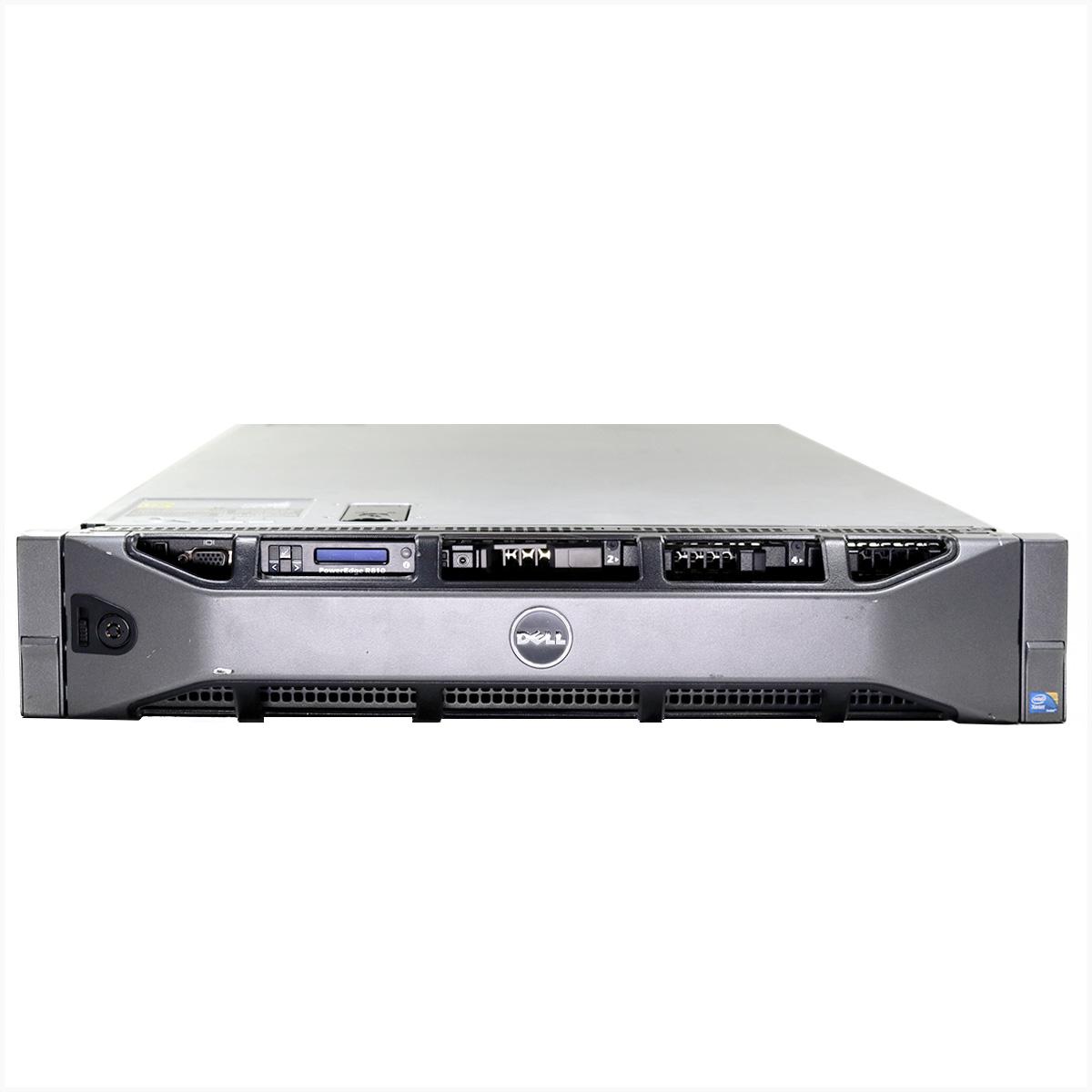 Servidor poweredge r810 4x xeon l7555 128gb 2x 1tb sas - usado