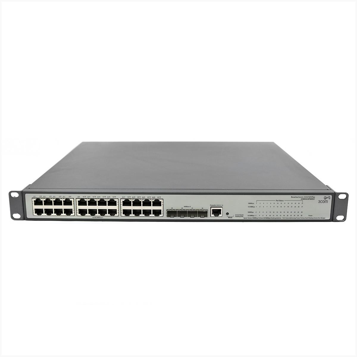 Switch cisco 3Com 3CRBSG28PWR93 - usado