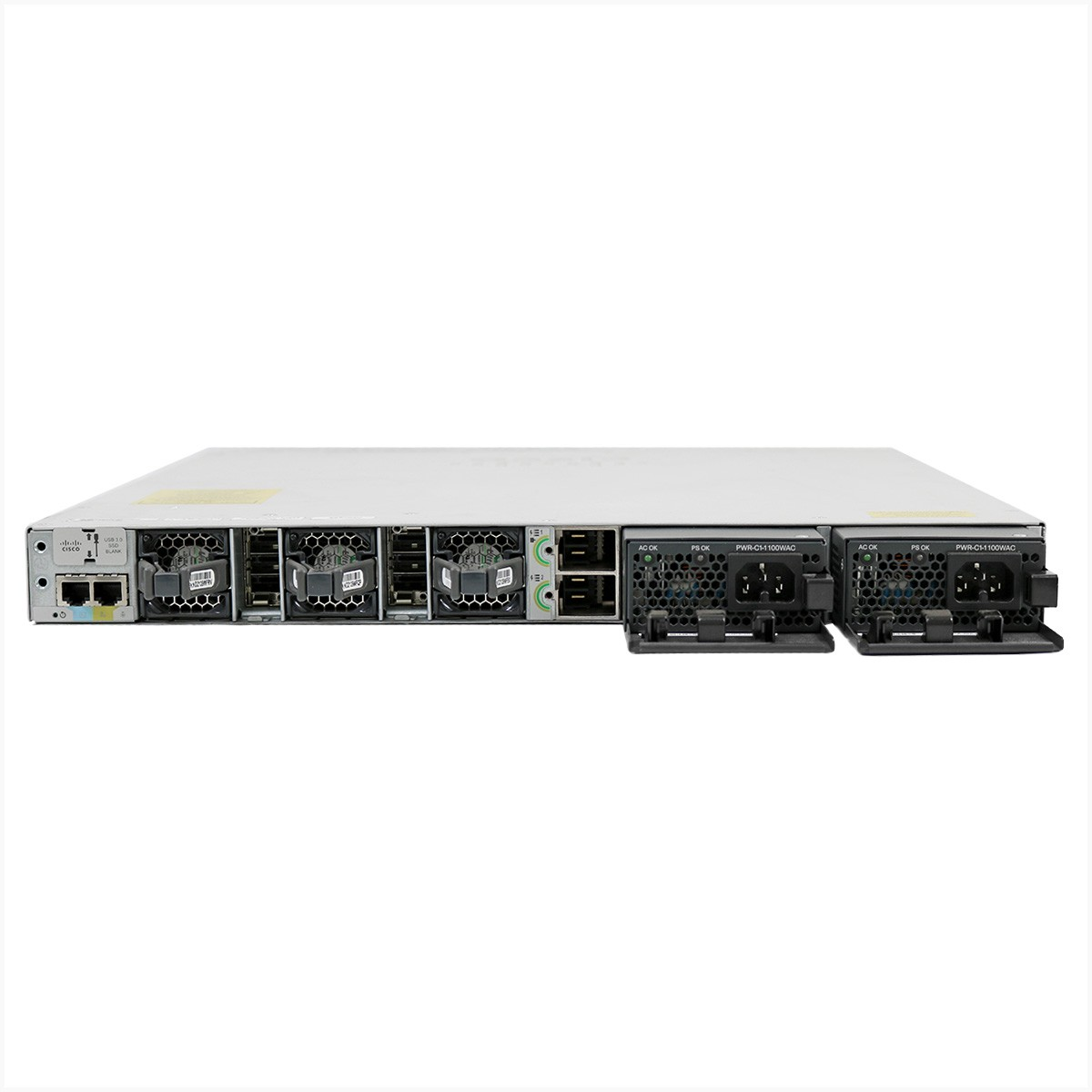 Switch cisco  c9300-24u-a 24 portas gigabit - usado