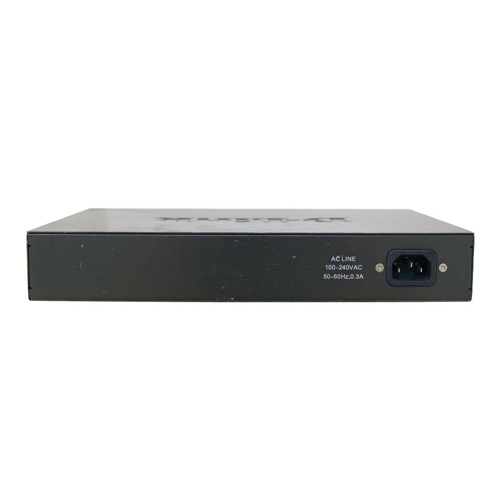 Switch d-link des-1024d 24x10/00 - usado