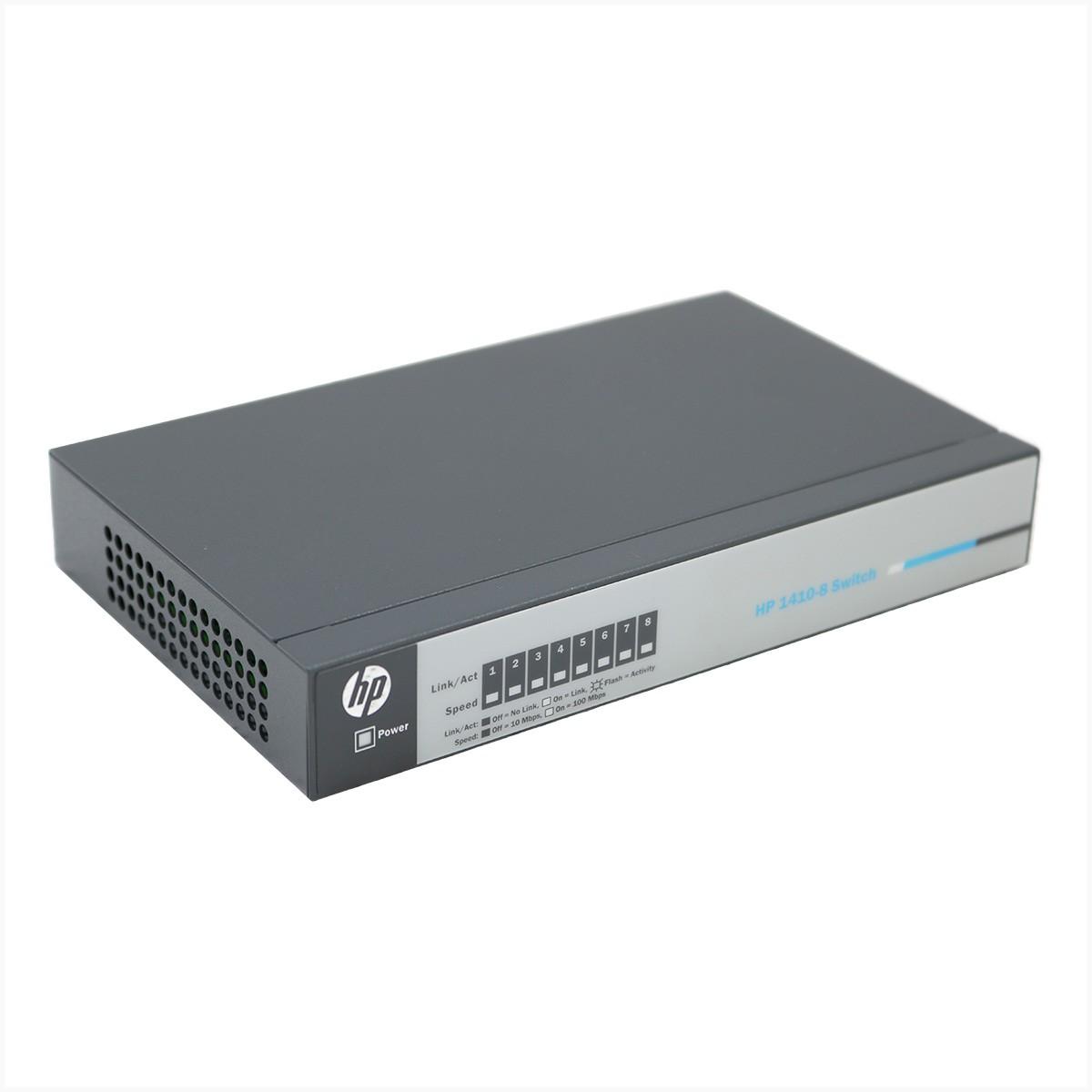 Switch HP J9661A  8x 10/100 - Usado