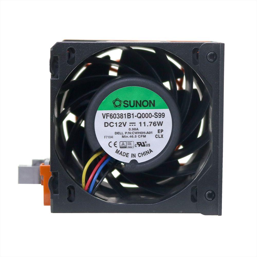 Ventoinha fan 0h0h89 para servidores dell r730 r730xd - usado