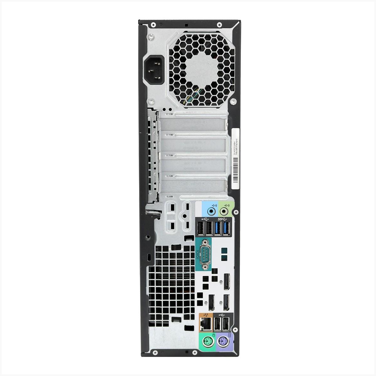 Workstation hp z230 xeon E3-1225 4gb 500gb - usado