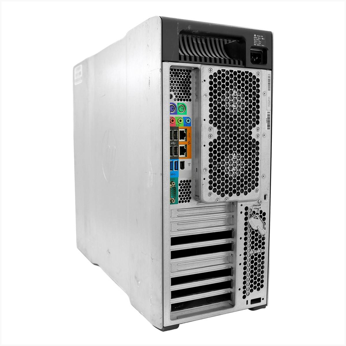 Workstation hp z820 xeon e5 2687 v2 32gb 480gb ssd - usado