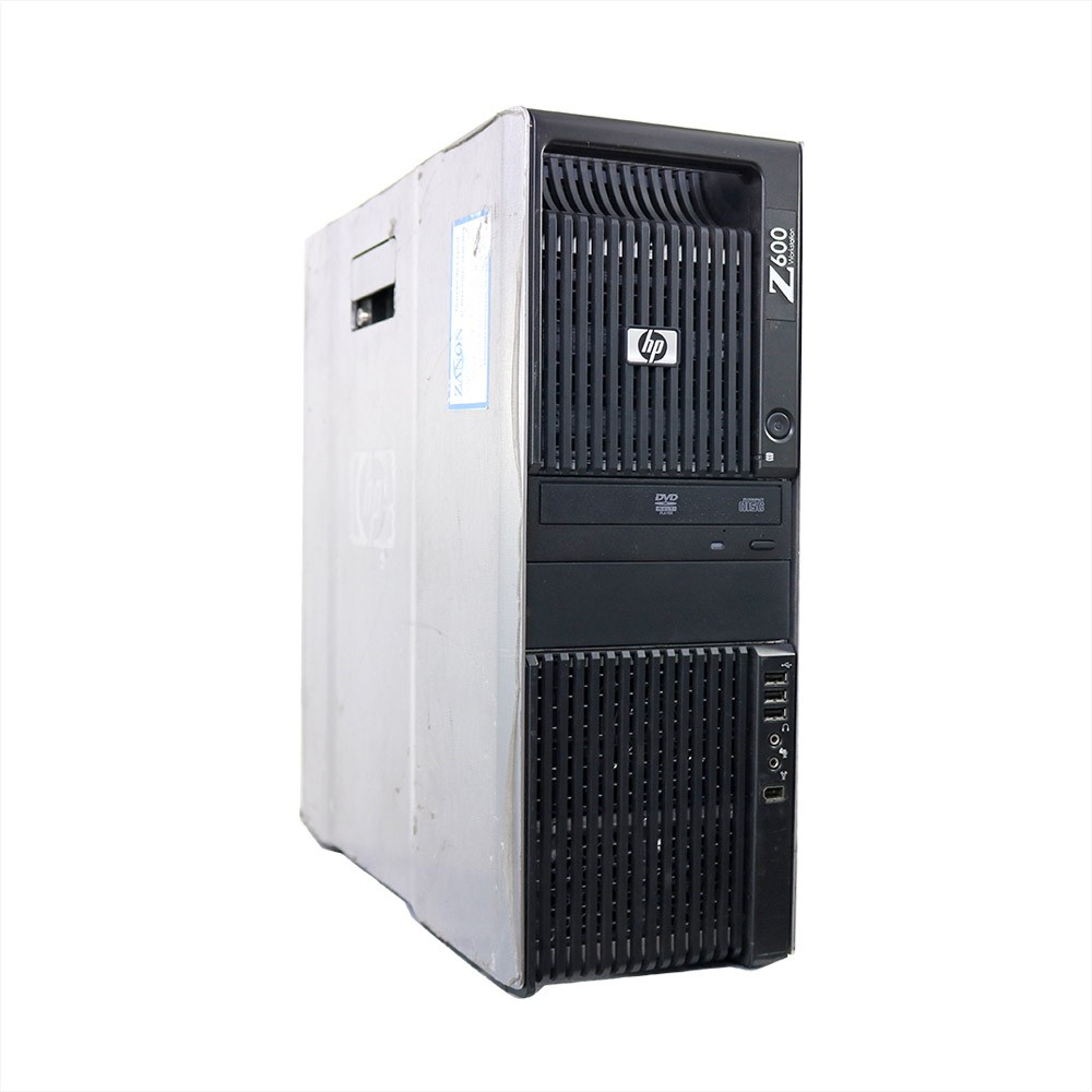 Workstation z600 intel xeon e5620 4gb 500gb - usado