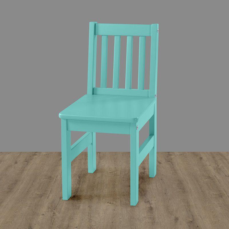 Cadeira Infantil Fun Anis Laca em madeira maciça