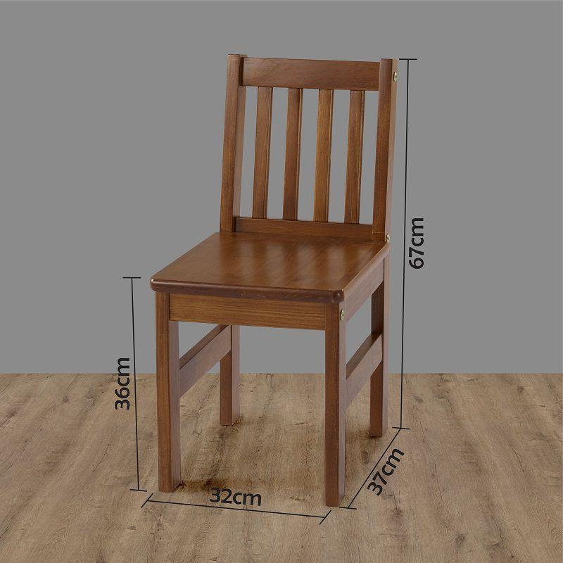 Cadeira Infantil Fun Madeira maciça