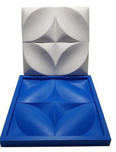 Molde Silicone Gesso 3D Floral - Lançamento