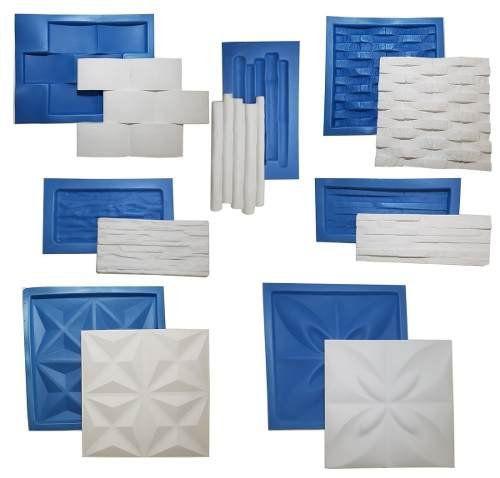 Kit 7 Formas 3d Plástico + Eva - Promoção De Lançamento