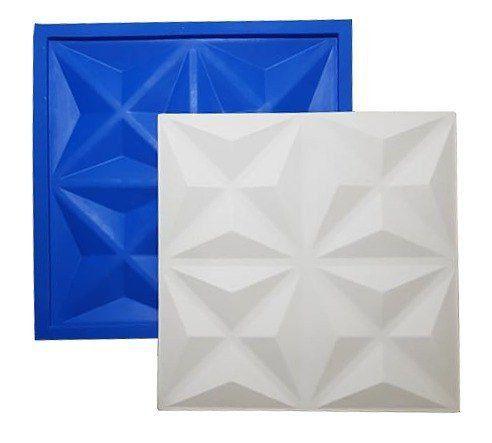 Forma de Gesso 3D Cullinas - Plástico e Eva