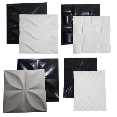 Kit 4 Formas Gesso/cimento Abs Envio Imediato Lindíssimos
