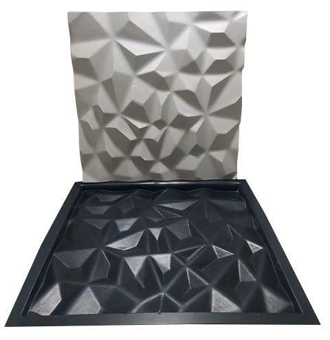 Forma Gesso 3d Abs Diamante 40x40 Envio Imediato Lindíssimos