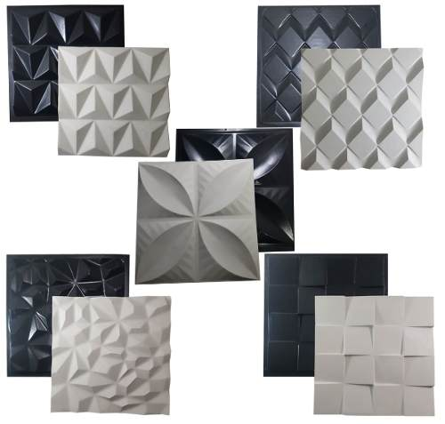 Kit 5 Formas Gesso/cimento Abs Envio Imediato Lindíssimos