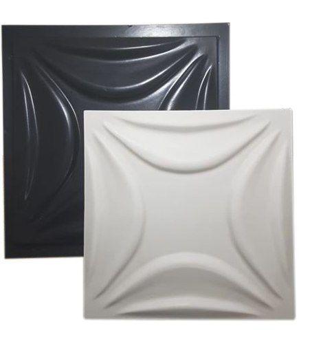 Forma Gesso 3d Abs Gesso/cimento - Caribe - 40x40cm
