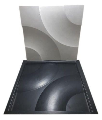 Forma Gesso 3d Abs Curvas 40x40 cm - Envio Imediato