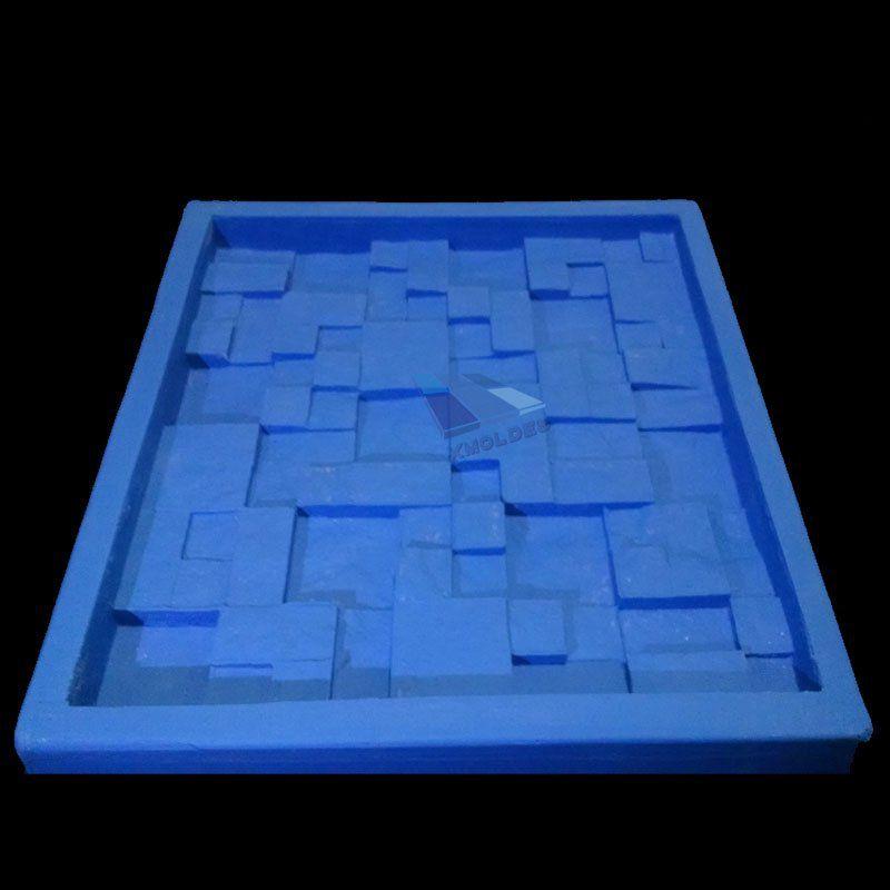 Molde Silicone Gesso Mosaico 3D