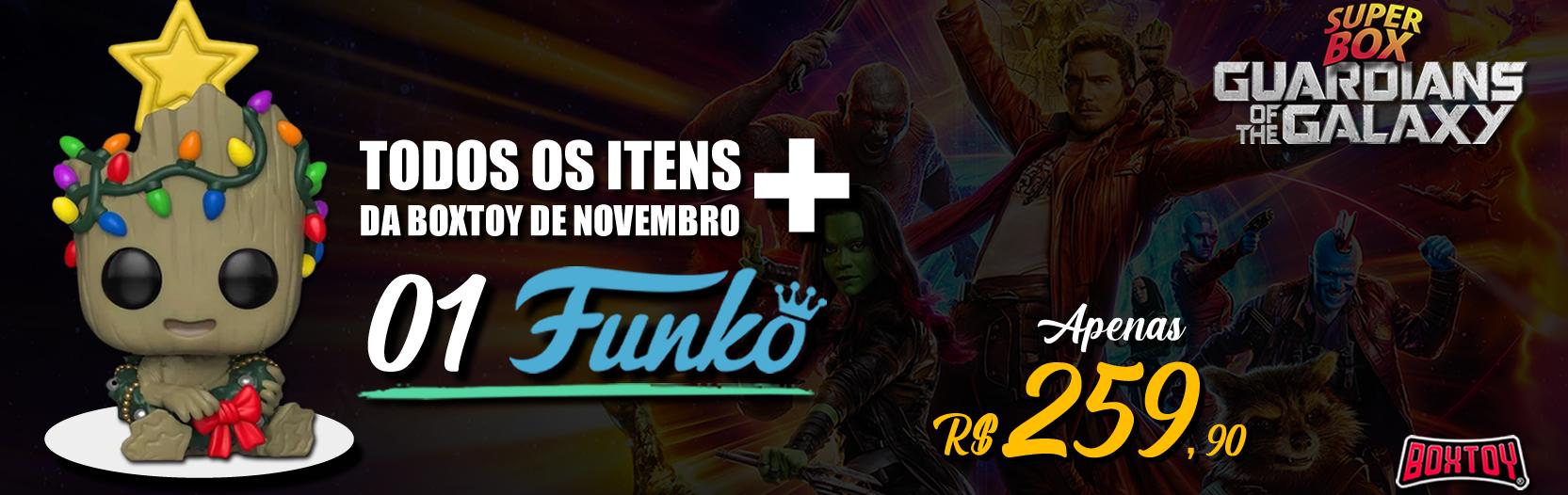 SuperBox Funko baby Groot