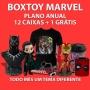 Boxtoy Marvel Anual - Todo mês um herói diferente