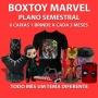 Boxtoy Marvel Semestral - Todo mês um herói diferente