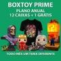 Boxtoy Prime Anual - Todo mês um tema geek diferente