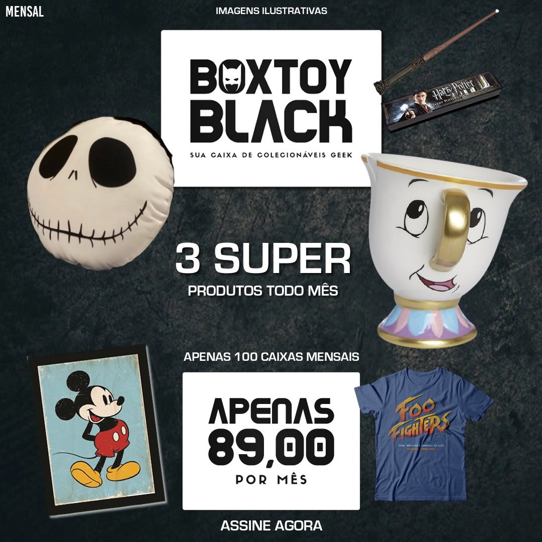 Boxtoy Black - mensal  - Boxtoy