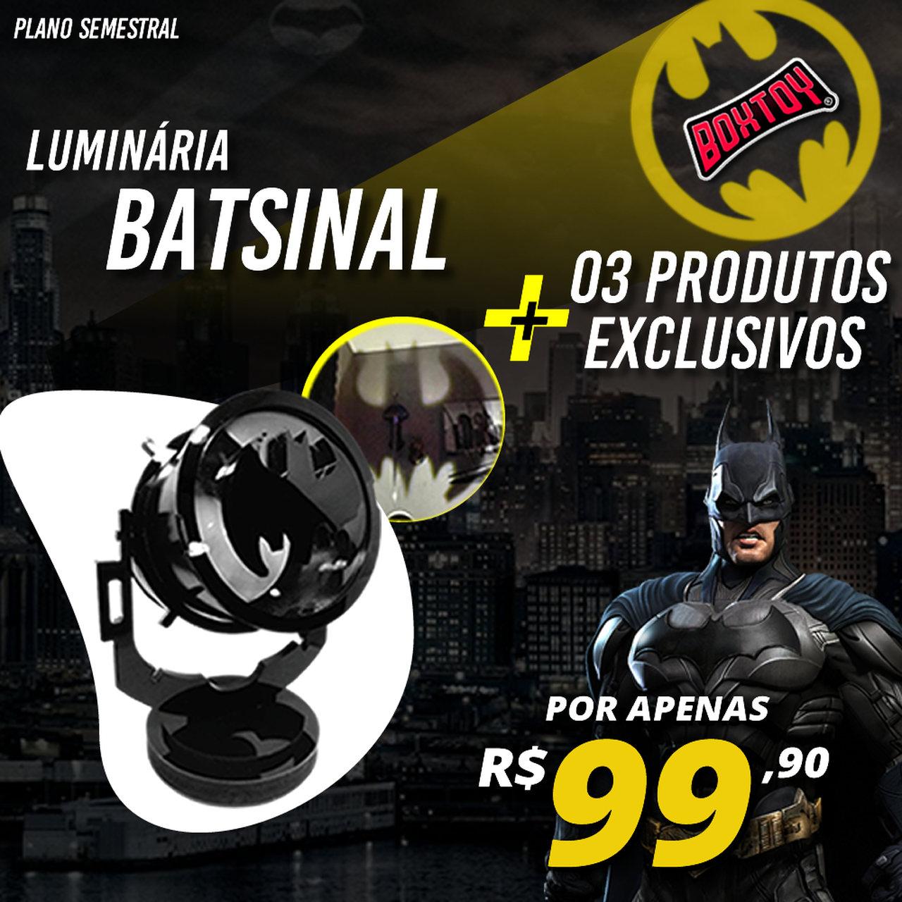 Boxtoy Edição Batman SEMESTRAL  - Boxtoy