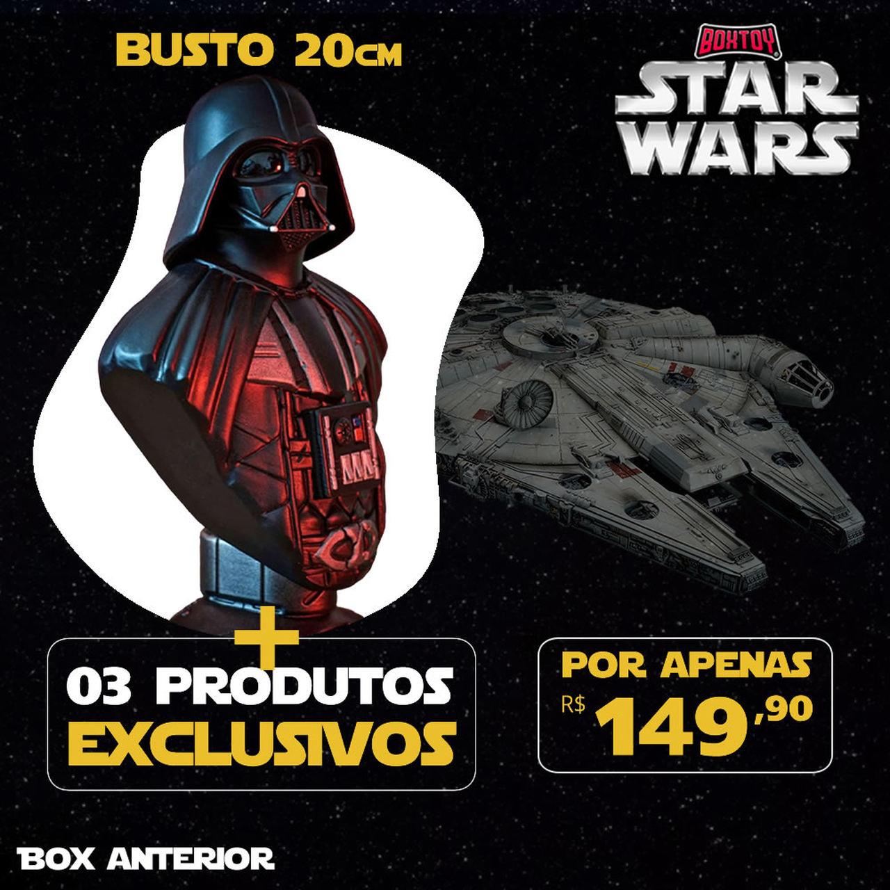 Boxtoy Edição Darth Vader - Star Wars  - Boxtoy
