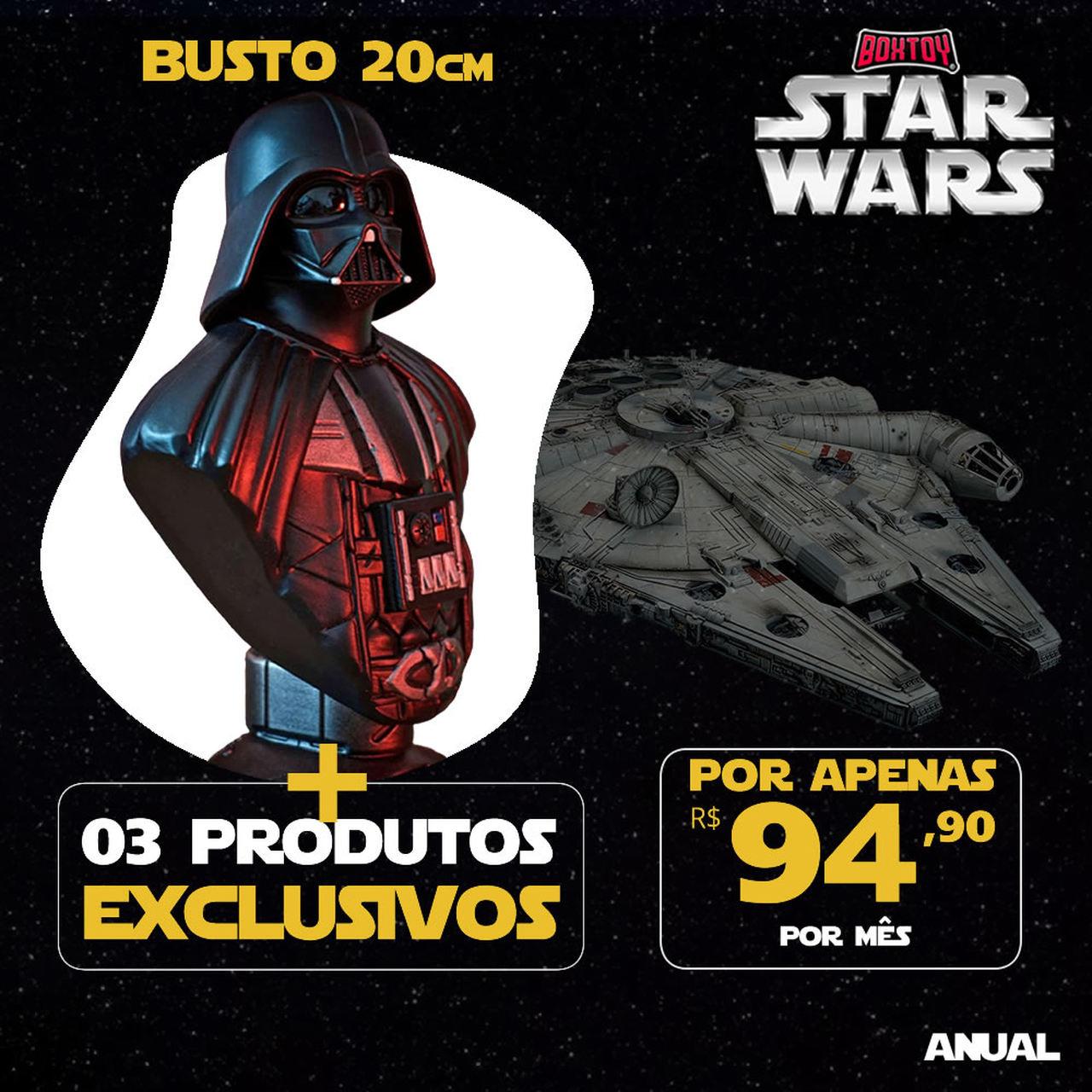 Boxtoy Edição Darth Vader - Star Wars ANUAL  - Boxtoy