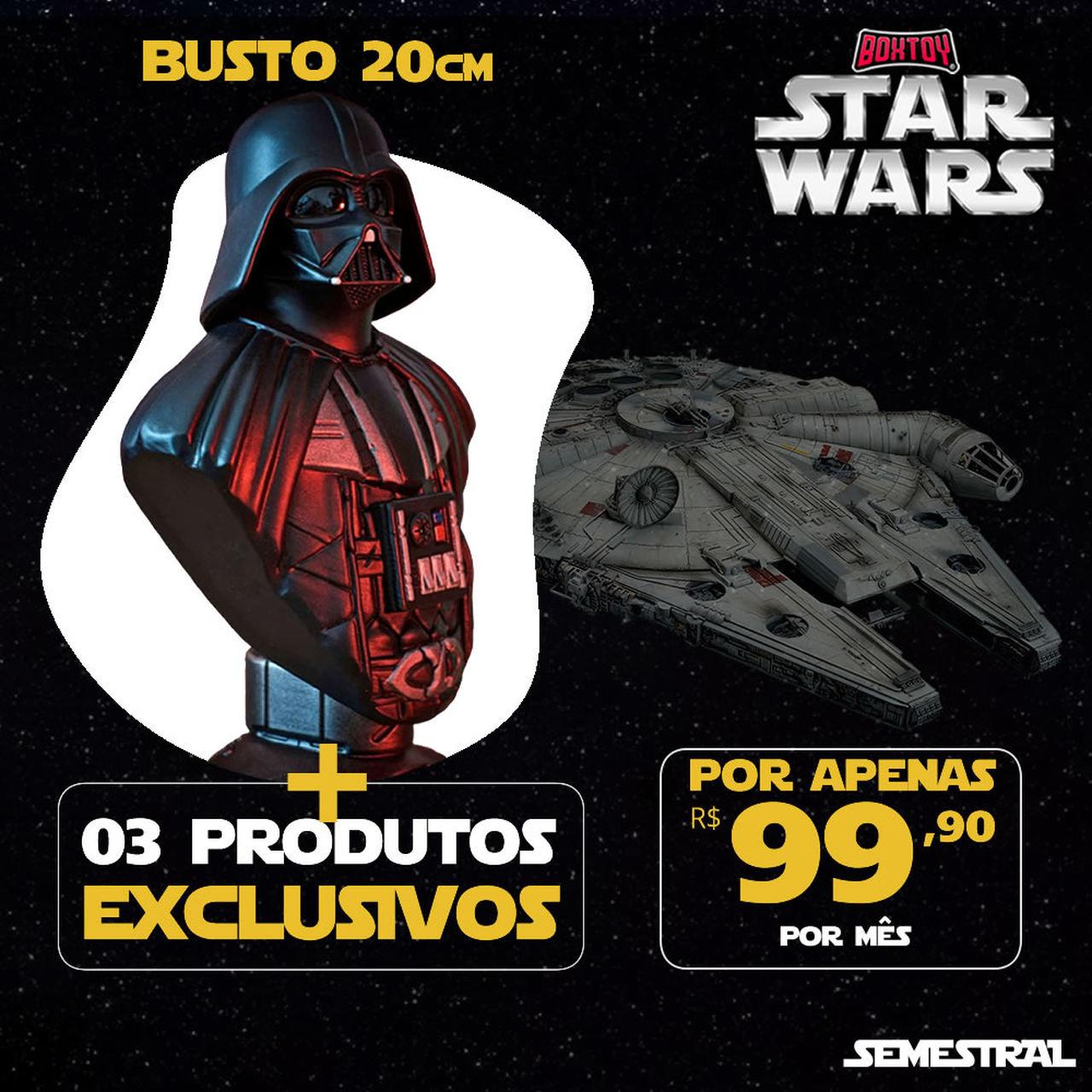 Boxtoy Edição Darth Vader - Star Wars SEMESTRAL  - Boxtoy