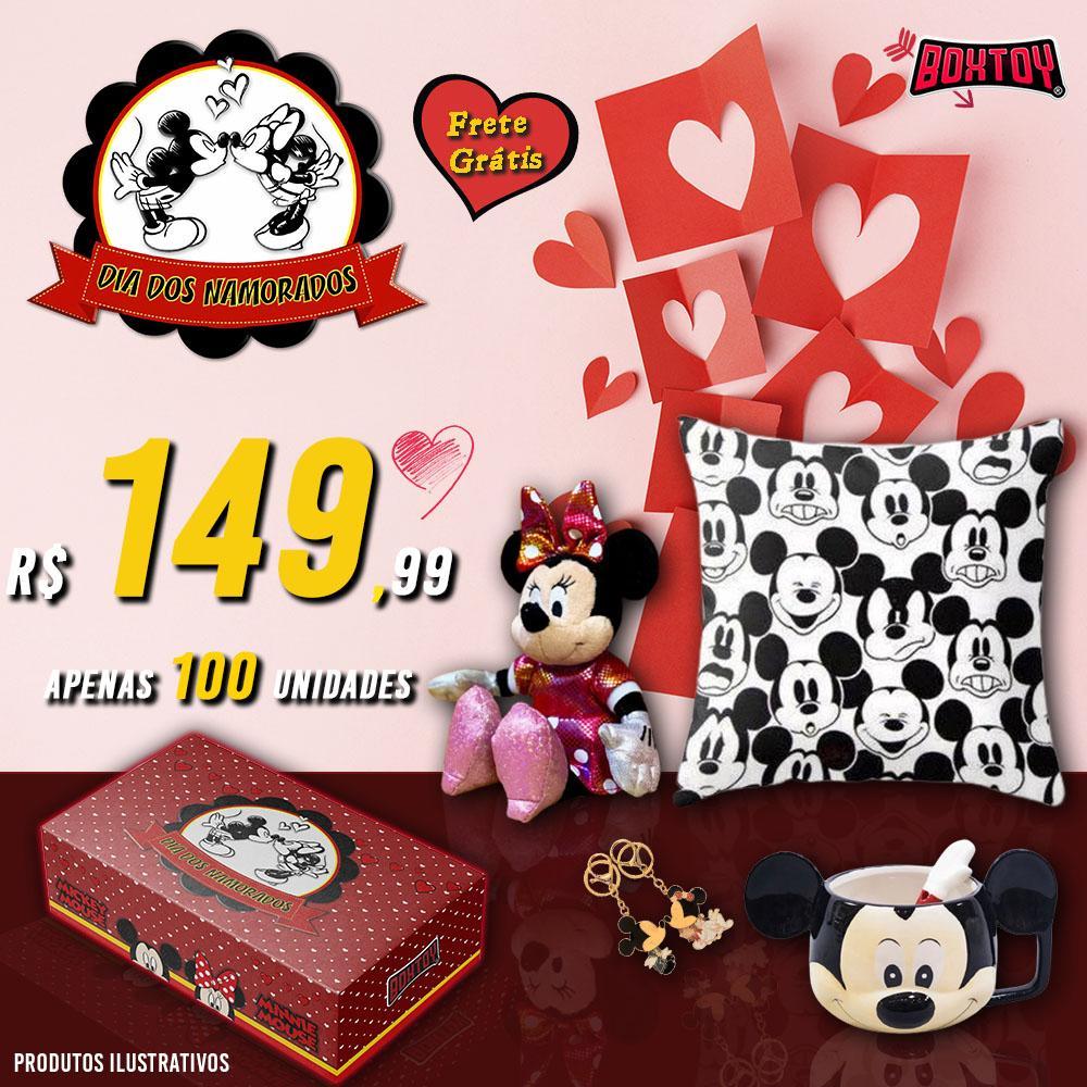 Boxtoy Edição Dia dos Namorados Disney  - Boxtoy