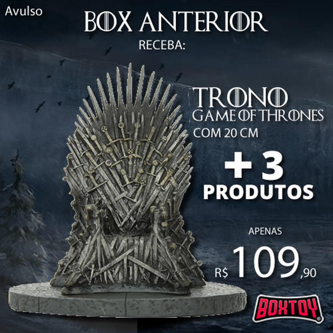 Boxtoy Edição  Game of Thrones  - Boxtoy