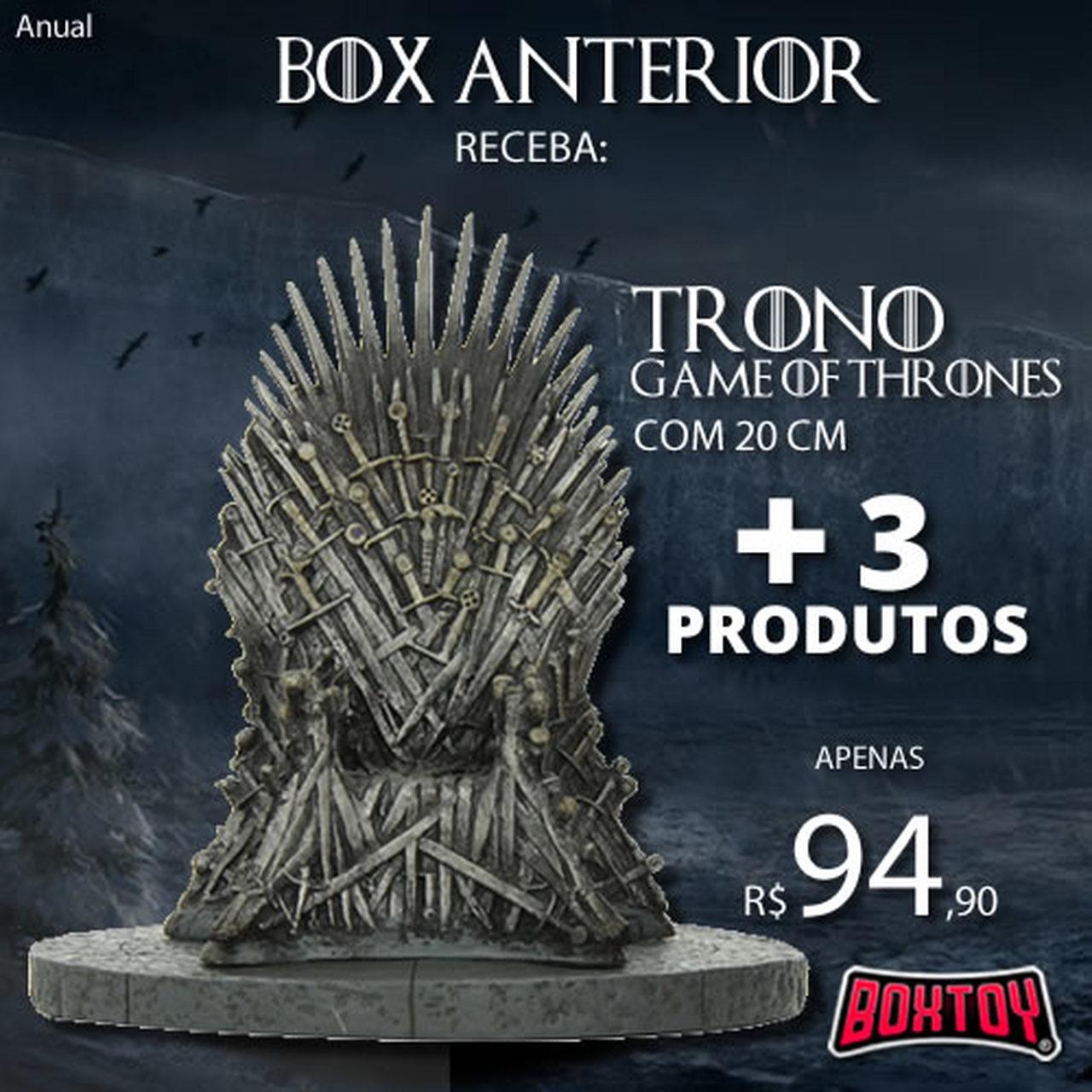 Boxtoy Edição  Game of Thrones ANUAL  - Boxtoy