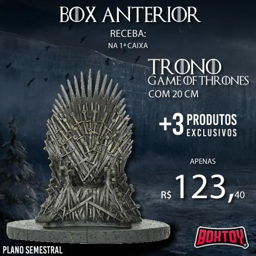 Boxtoy Edição  Game of Thrones SEMESTRAL  - Boxtoy