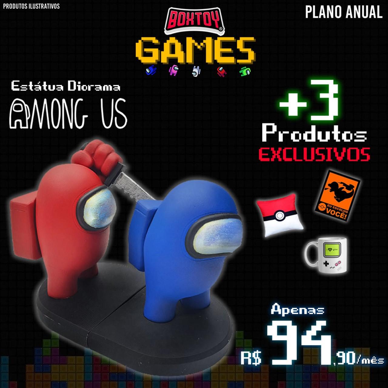 Boxtoy Edição GAMES  -  Anual  - Boxtoy