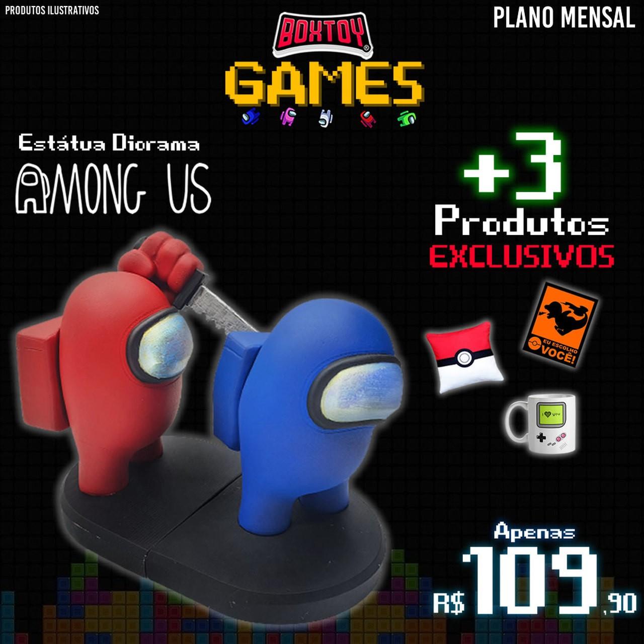 Boxtoy Edição GAMES - Mensal  - Boxtoy