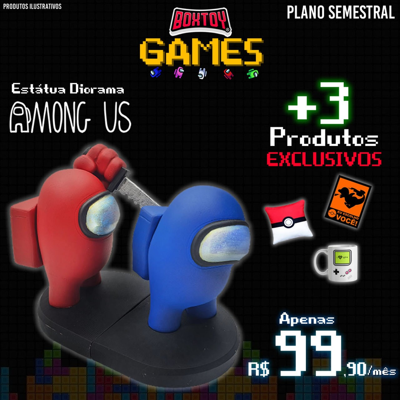 Boxtoy Edição Games - Semestral  - Boxtoy