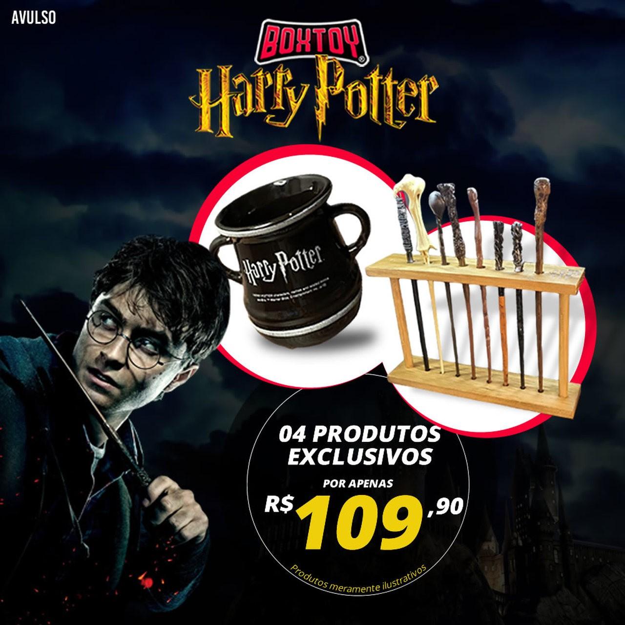 Boxtoy Edição Harry Potter  - Boxtoy