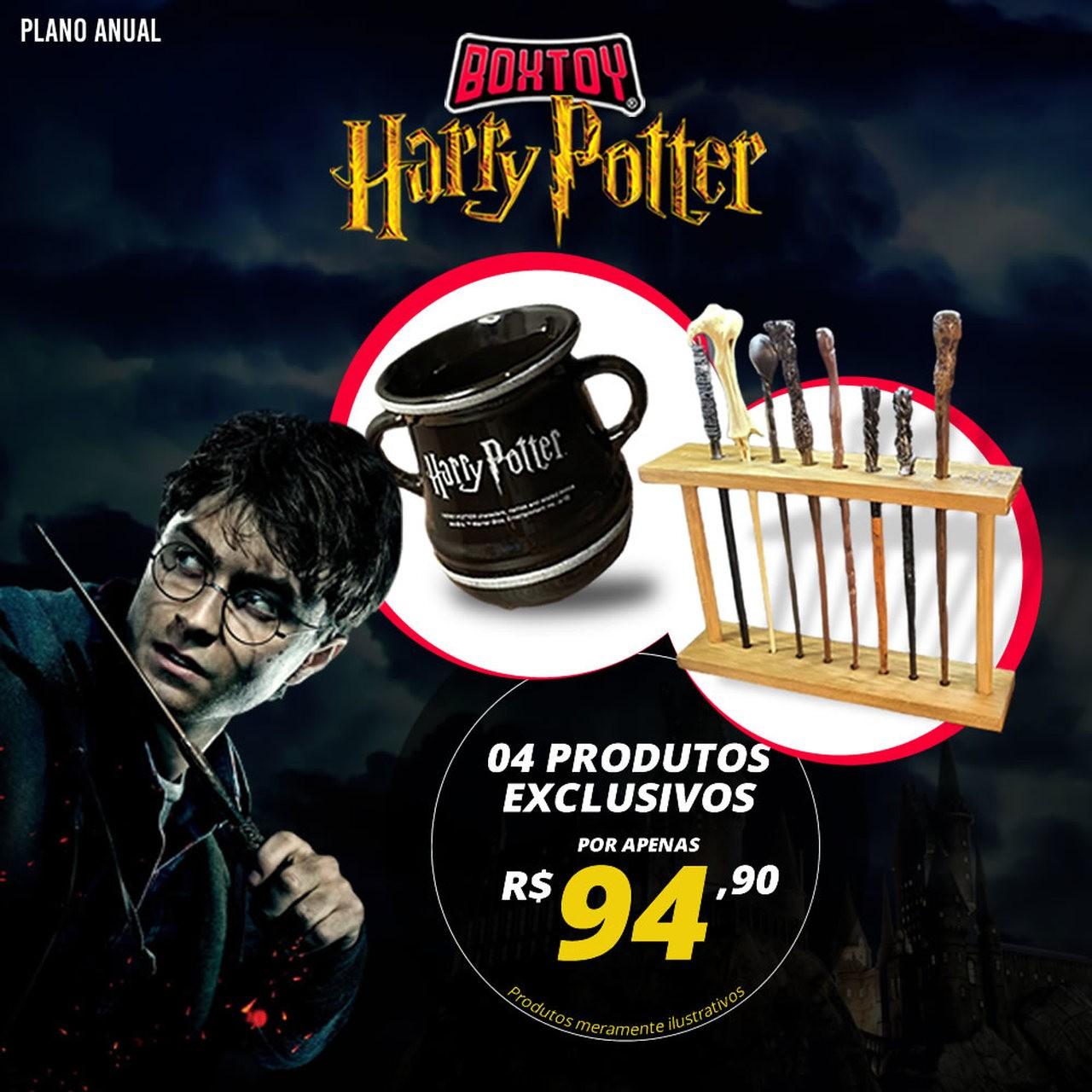 Boxtoy Edição Harry Potter ANUAL  - Boxtoy