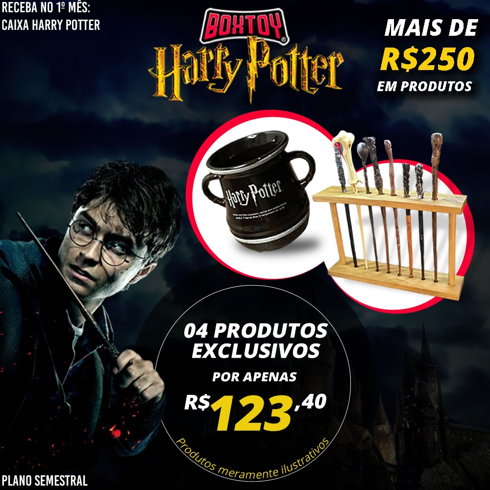 Boxtoy Edição Harry Potter SEMESTRAL  - Boxtoy