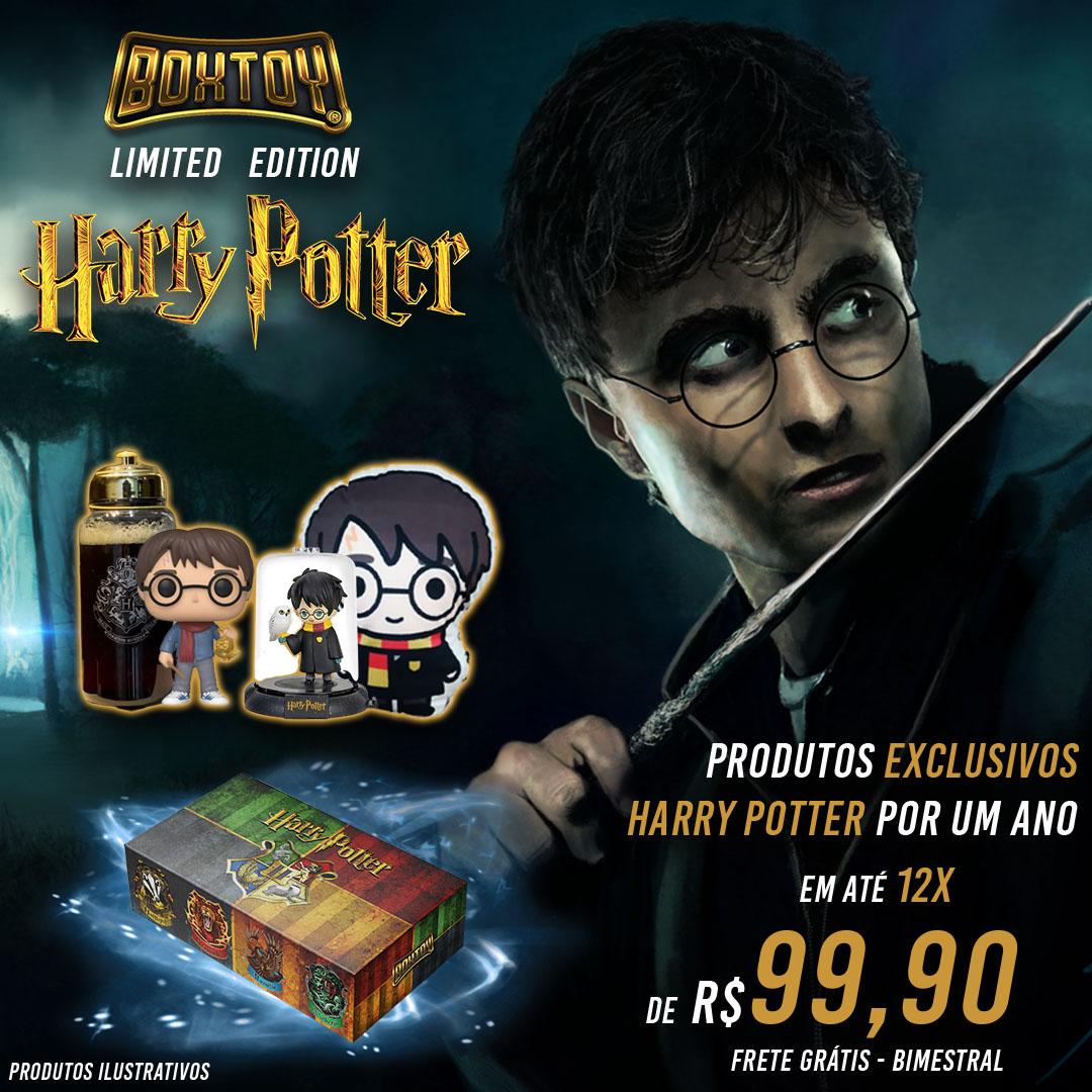 Boxtoy Edição Limitada Harry Potter - Bimestral  - Boxtoy