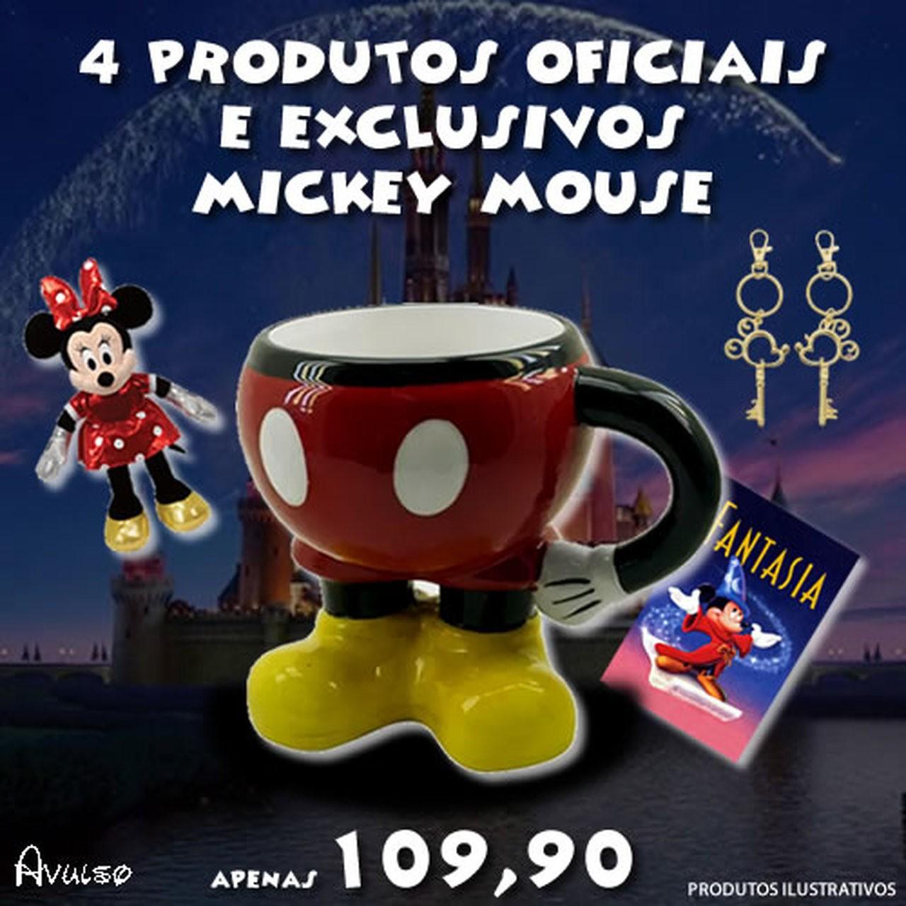 Boxtoy Edição Mickey Mouse  - Boxtoy