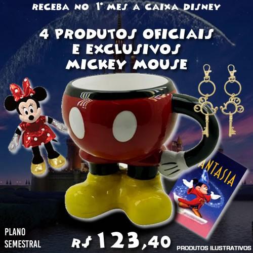 Boxtoy Edição Mickey Mouse SEMESTRAL  - Boxtoy