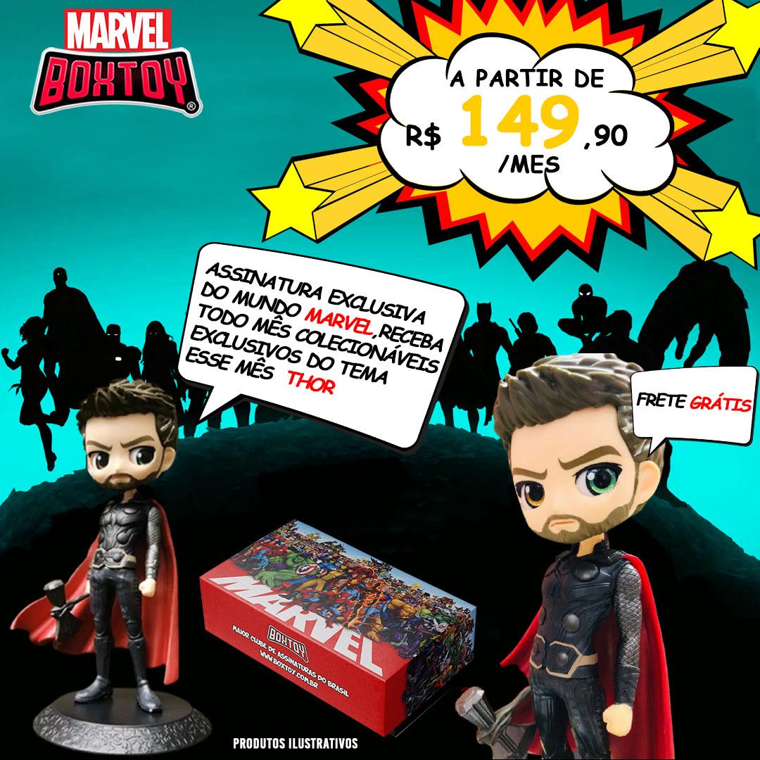 Boxtoy Marvel - Semestral  - Boxtoy