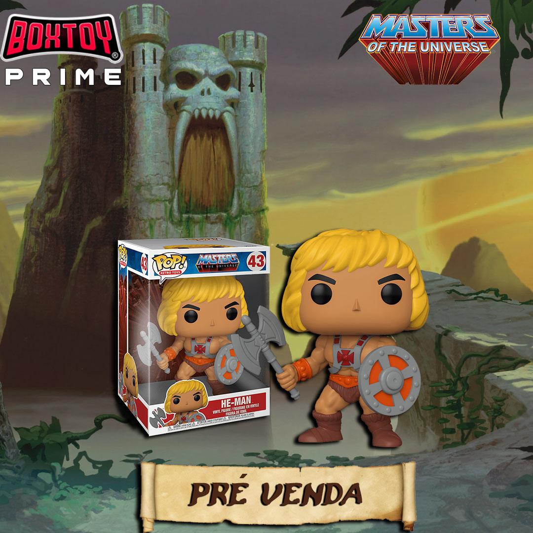Pré venda Box prime He-man - Anual