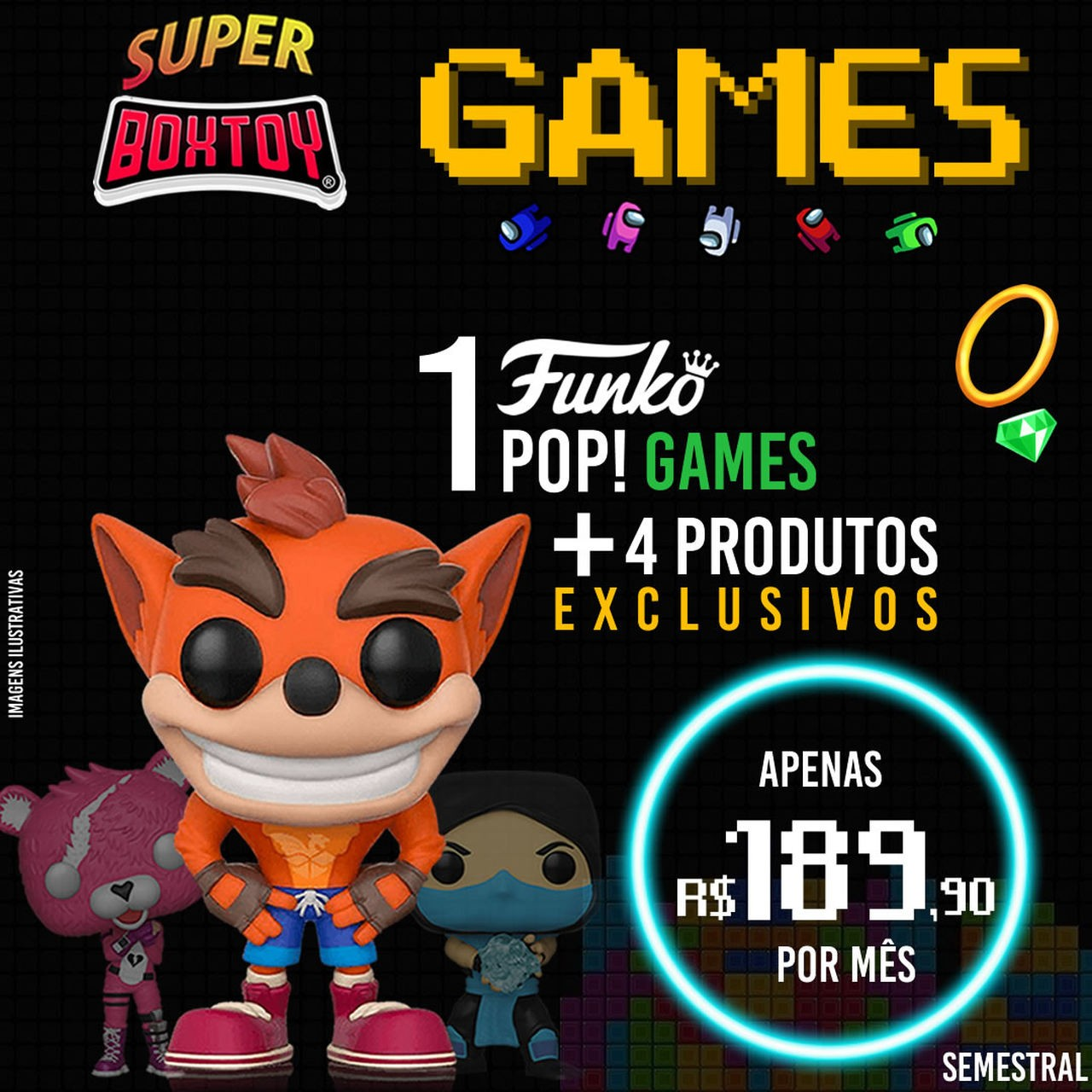 SUPER BOX - Semestral  - Boxtoy
