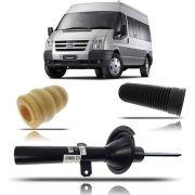 Amortecedor Dianteiro Com Aba (kit) Original Ford Transit 2008 2009 2010 2011 2012 2013