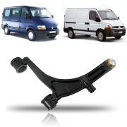 Balança Inferior com Pivo 24mm Lado Direito Renault Master 2002 2003 2004 2005 2006 2007 2008 2009 2010 2011 2012 2013